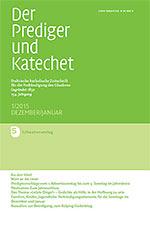Der Prediger und Katechet
